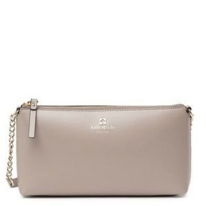 Kate Spade ♠️ NEW Grey Crossbody Bag
